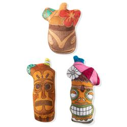 Tiki Drinks 3 Piece Small Dog Toy Set