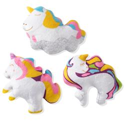 Unicorns 3 Piece Small Dog Toy Set