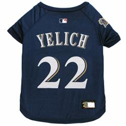 Christian Yelich Dog Tee Shirt