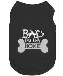 Bad to da Bone Dog T-Shirt
