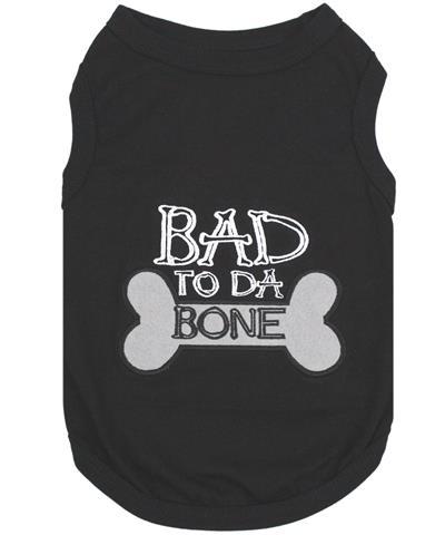 Bad to da Bone Dog T-Shirt