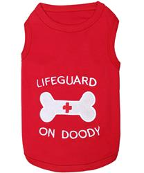 Lifeguard on Doody Dog T-Shirt