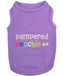 Pampered Poochie Dog T-Shirt
