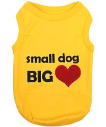 Small Dog Big Heart Dog T-Shirt
