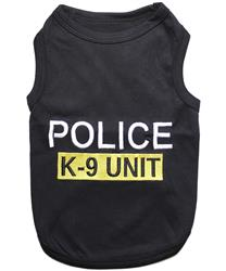 Police K-9 Unit Dog T-Shirt