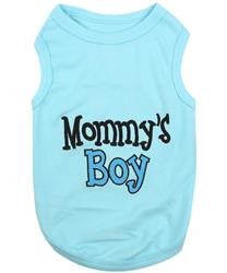 Mommy's Boy Dog T-Shirt