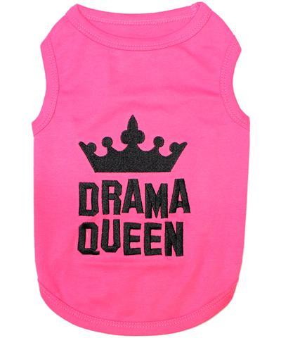 Drama Queen Dog T-Shirt