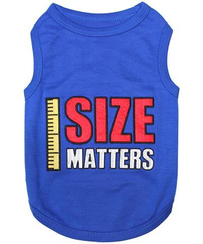 Size Matters Dog T-Shirt