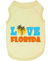 Love Florida Dog T-Shirt