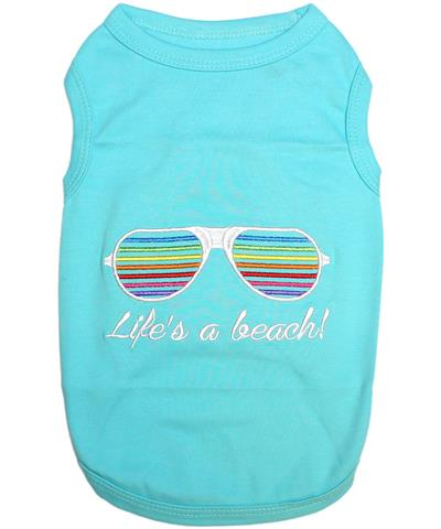 Life's a beach! Dog T-Shirt