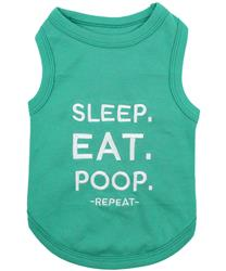 Sleep. Eat. Poop. Dog T-Shirt