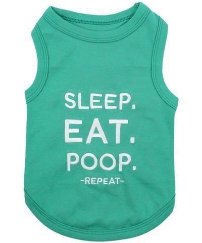 Sleep. Eat. Poop. Dog T-Shirt