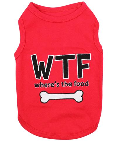 WTF where's the food Dog T-Shirt