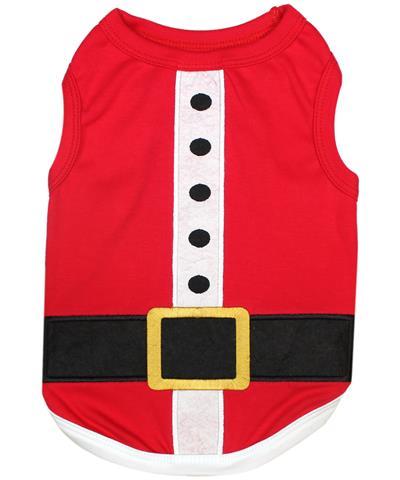 Santa Claus Outfit Dog T-Shirt