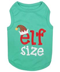 Elf Size Dog T-Shirt