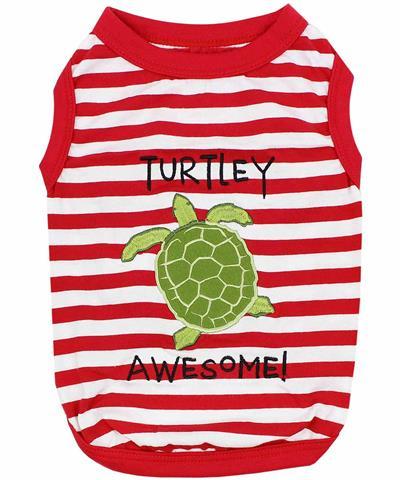Turtley Awesome Dog T-Shirt