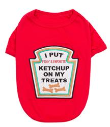 Ketchup Licker Dog Shirt