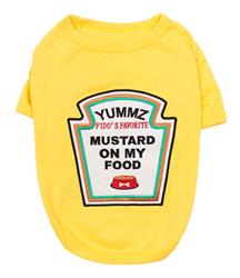 Mustard Licker Dog Shirt