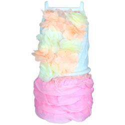Pink Ruffles Dress