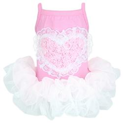 Pink Tutu Heart Dress