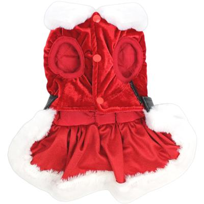 Mrs Claus Suede Dress