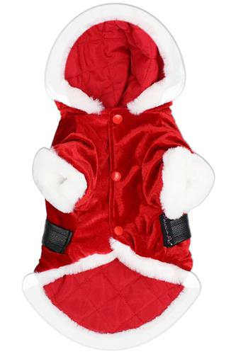 Santa's Suede Hoodie