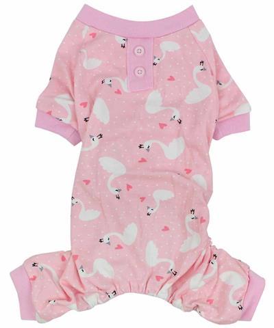 Pink Swan Pajamas