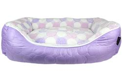 Purple Cotton Candy Bed