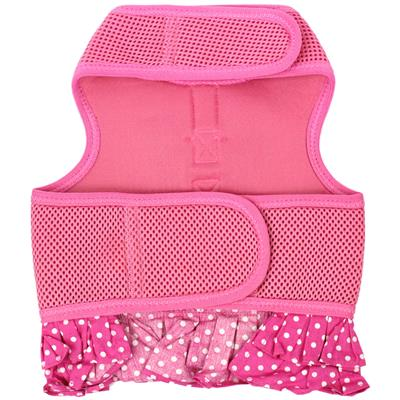 Pink Polka Dot Harness Dress