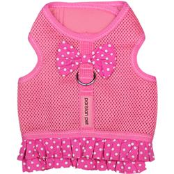 Pink Polka Dot Harness Dress