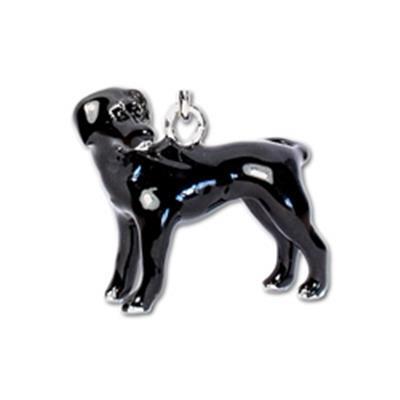 Black Labrador Keychain