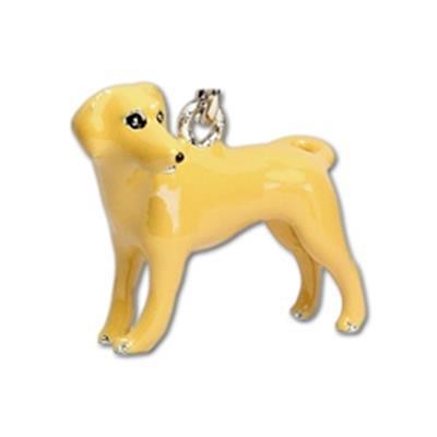 Tan Labrador Keychain