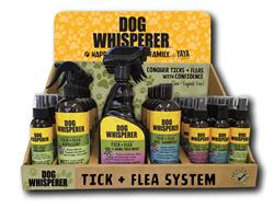 Dog Whisperer COUNTER DISPLAY PREPACK - MIXED tick and flea products