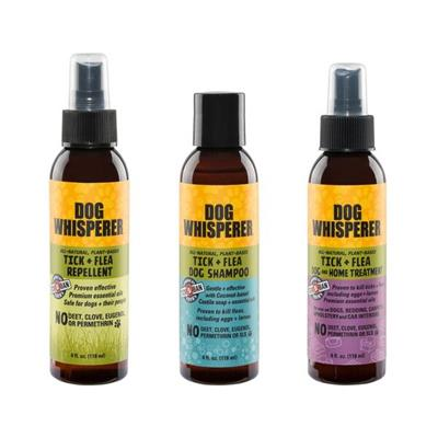 Dog Whisperer Try-Me Sample Pack - Tick and Flea products