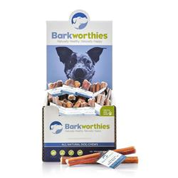 Barkworthies Bully Stick - Odor Free American Baked - 06'' (Mini Case) Case of 75