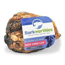 Barkworthies Beef Knee Cap-Sold as whole case of 15