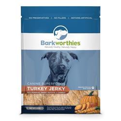 Barkworthies Turkey w/ Pumpkin, Sweet Potato & Carrot Superfood Jerky (4 oz. )