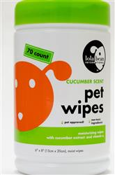 Lola Bean Pet Wipes - Canister - 70 count