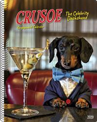 Crusoe the Celebrity Dachshund 2020 Engagement Calendar