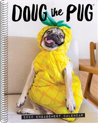 Doug the Pug 2020 Engagement Calendar