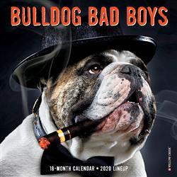Bulldog Bad Boys 2020 Mini Calendar