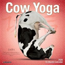 Cow Yoga 2020 Mini Calendar