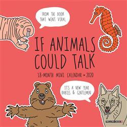 If Animals Could Talk 2020 Mini Calendar