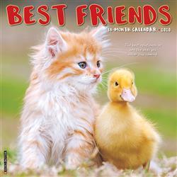 Best Friends 2020 Wall Calendar