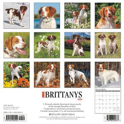 Brittanys 2020 Wall Calendar