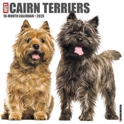 Cairn Terriers 2020 Wall Calendar