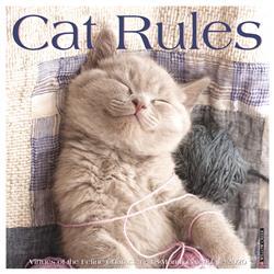 Cat Rules 2020 Wall Calendar