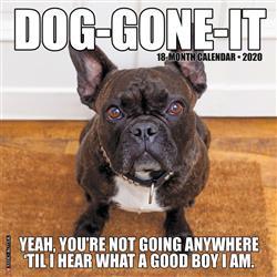 Dog-Gone-It 2020 Wall Calendar