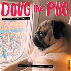 Doug the Pug 2020 Wall Calendar