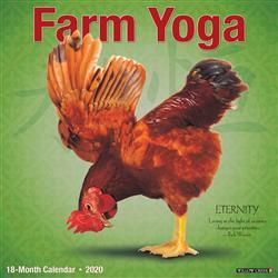 Farm Yoga 2020 Wall Calendar